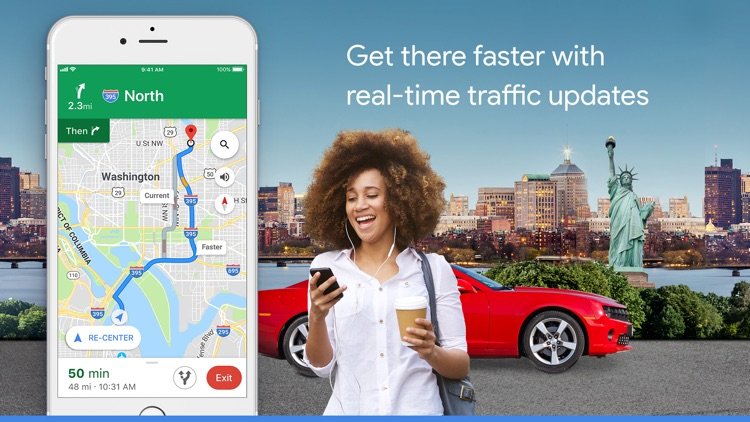 Google Maps - Transit & Food screenshot-0