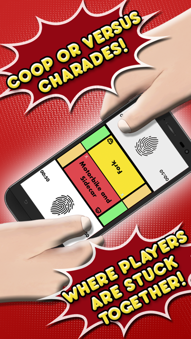 Stuck on You - Charades with a twist! - 窓用
