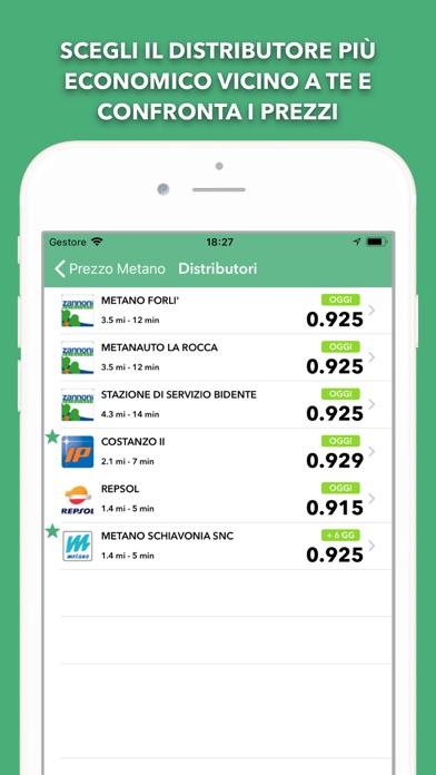 Prezzo Metano - Distributori