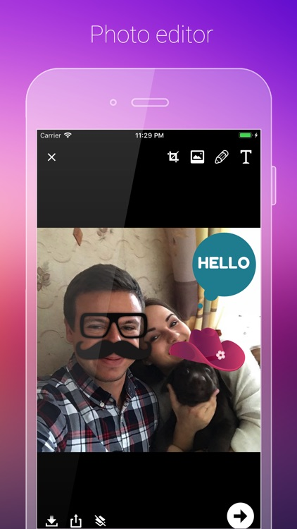 Photo editor for Instagram