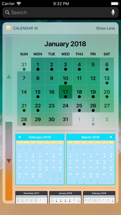 Calendar Widget screenshot-1
