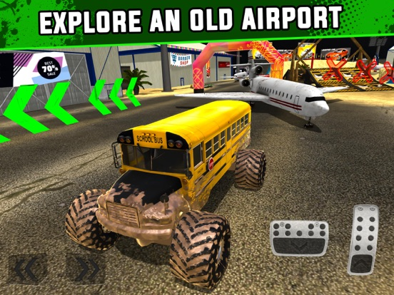 Monster Truck XT Airport Derby на iPad