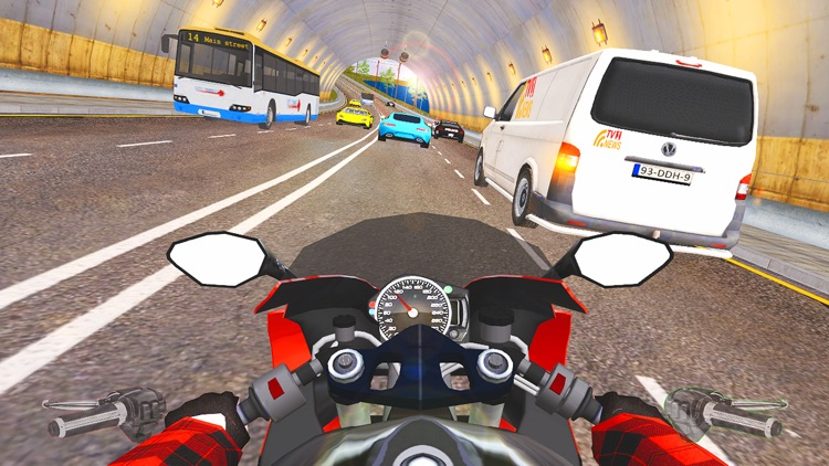 Moto Traffic Rider 3D Highway screenshot-3