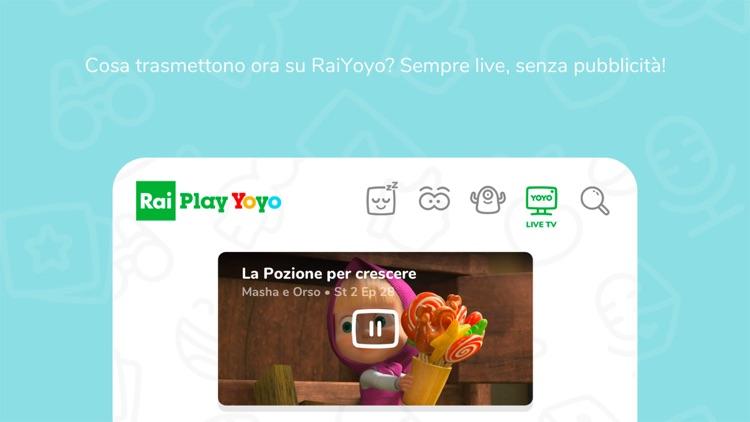 RaiPlay Yoyo screenshot-5
