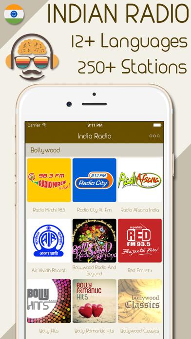 India Radio - Live Indian Radio Stations screenshot one