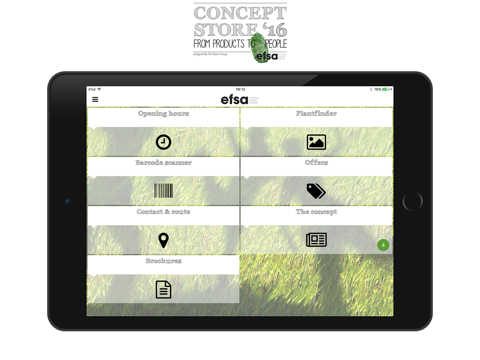 EFSA Concept Store - náhled