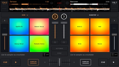 edjing Mix - dj app Screenshot