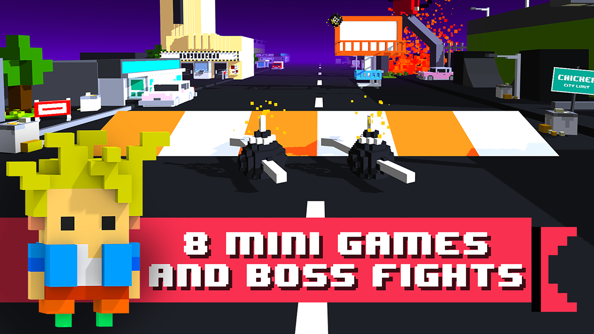 Chicken Jump - Crazy Traffic screenshot 15