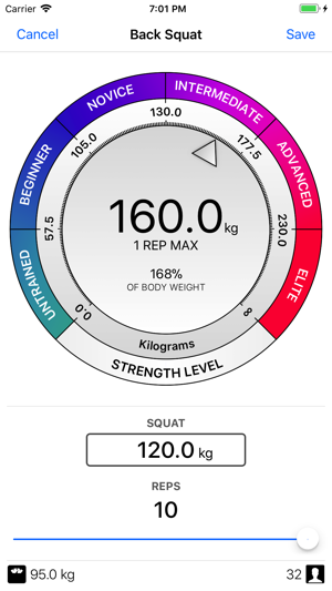 Strength Level on the App Store