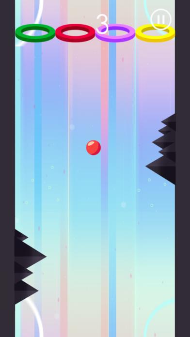 Hoop Wall Color Ball screenshot four