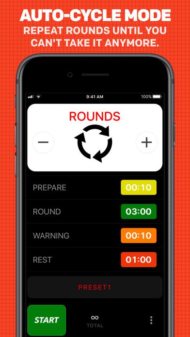 Boxing Timer Pro Screenshot 4