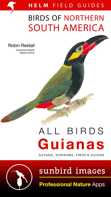 All Birds Guianas, Suriname, Guyana, French Guiana