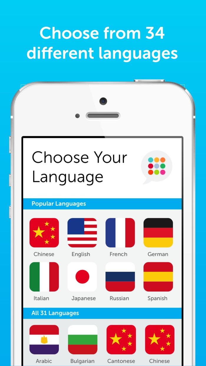 Innovative 101 Learn Languages Screenshot
