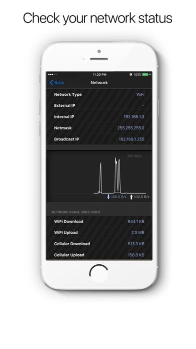 点击获取System & Network Info