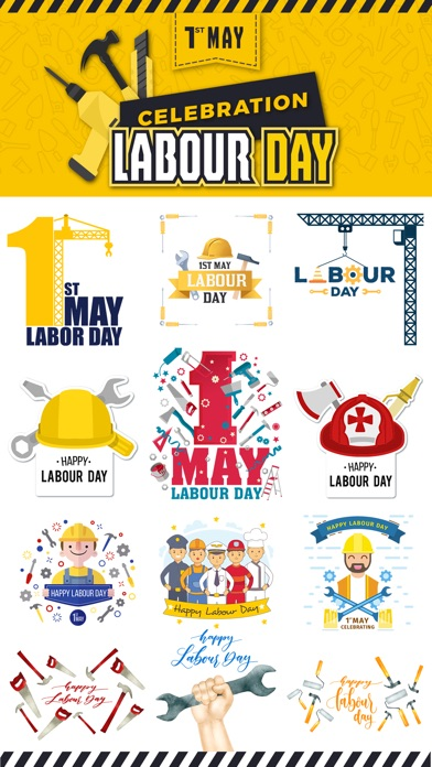 Happy Labour Day - 1st May screenshot 1