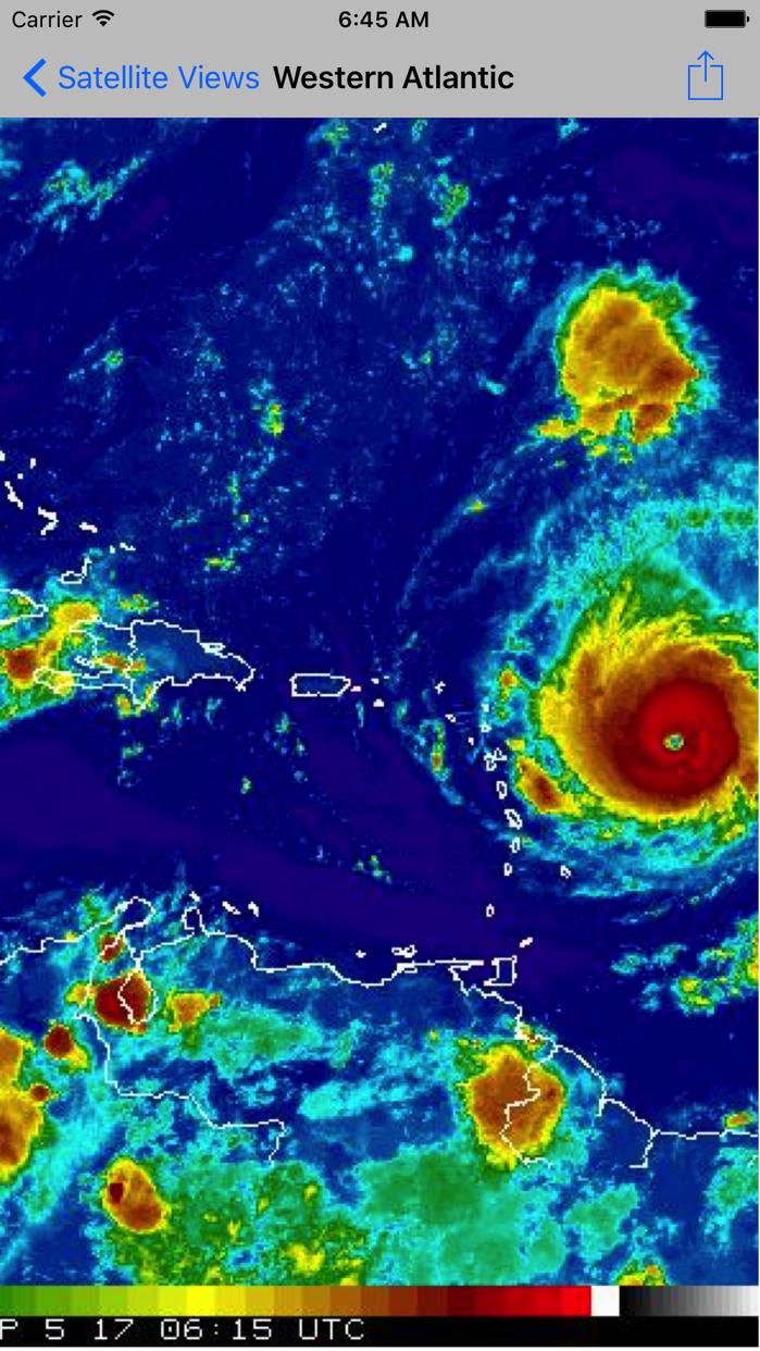 NOAA Now Screenshot