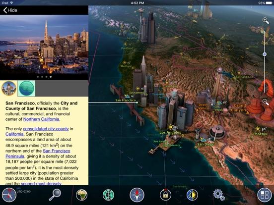 Screenshot #2 for Earth 3D - Amazing Atlas