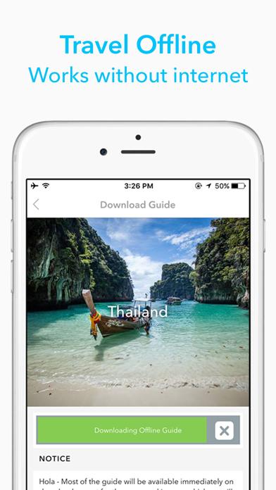 United Arab Emirates Travel Guide by Triposo screenshot one