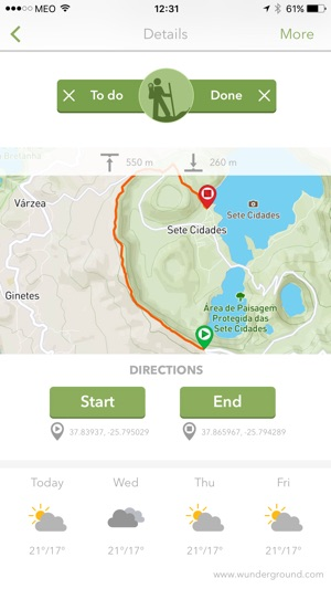 Walkme Portugal Trails on the App Store