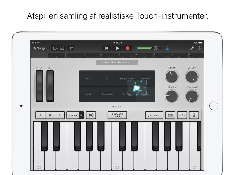 iPad Skærmbillede 3