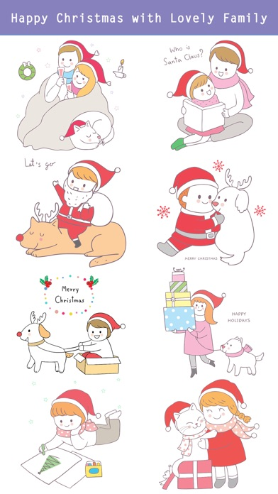 Cute Hand Drawn Christmas Pack screenshot 3