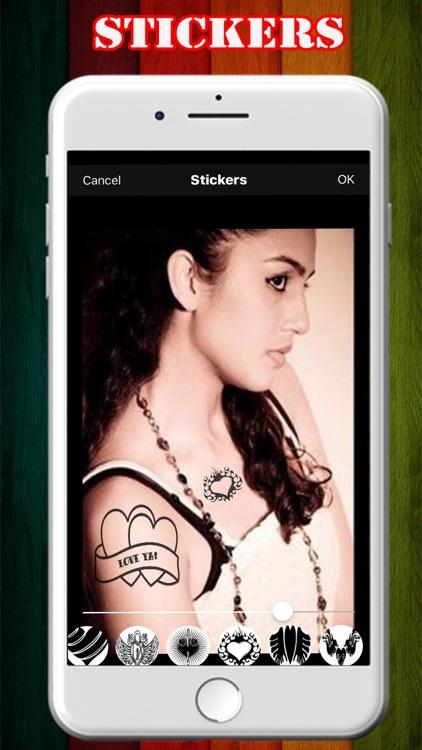 Tattoo Photo Maker App screenshot-3