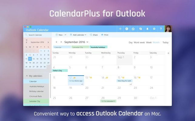 ‎CalendarsPlus on the Mac App Store