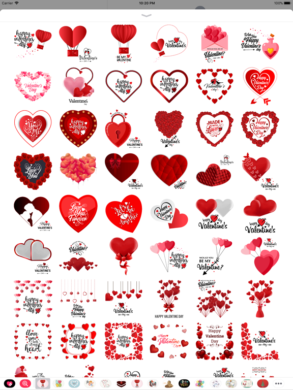 Love Stickers Valentine's Days screenshot 7