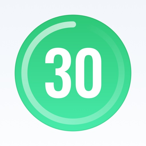 30 Day Fitness Challenge Log application logo