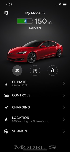 Tesla Screenshot