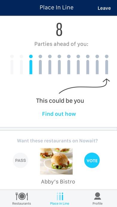 Nowait Guest review screenshots