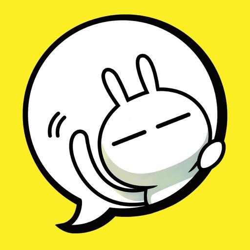 Tuzki Animated Sticker Pack by...