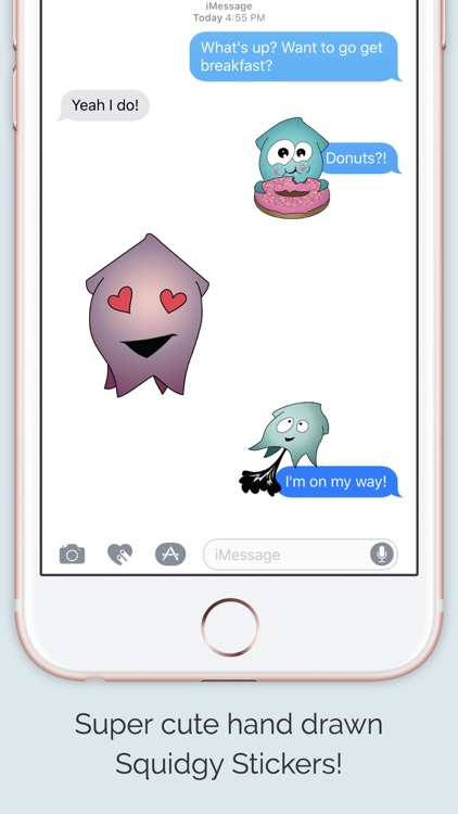 Squidgy Emoji Sticker Pack