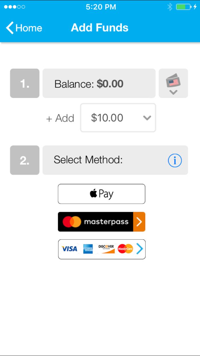 PayRange Screenshot