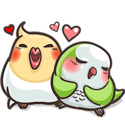 Cute Parrot ParrotMoji Sticker