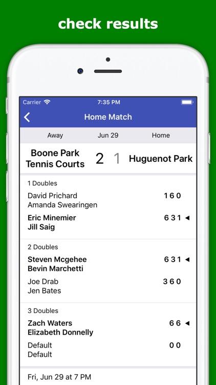 Tennis Team Connect screenshot-4