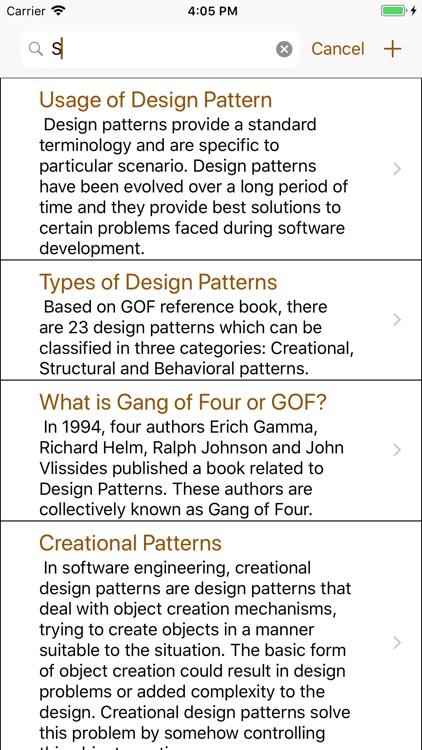 Design Patterns Interview screenshot-9