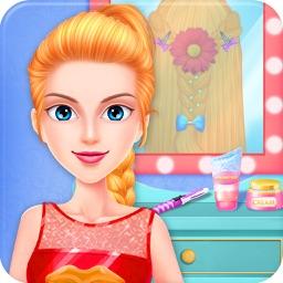 Braided Hairstyle Makeup Salon
