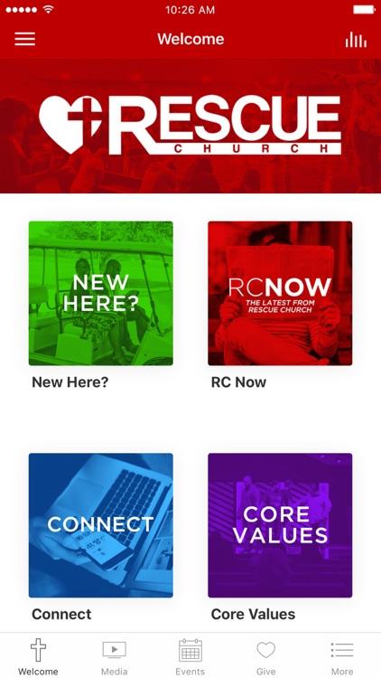 Rescue Church App
