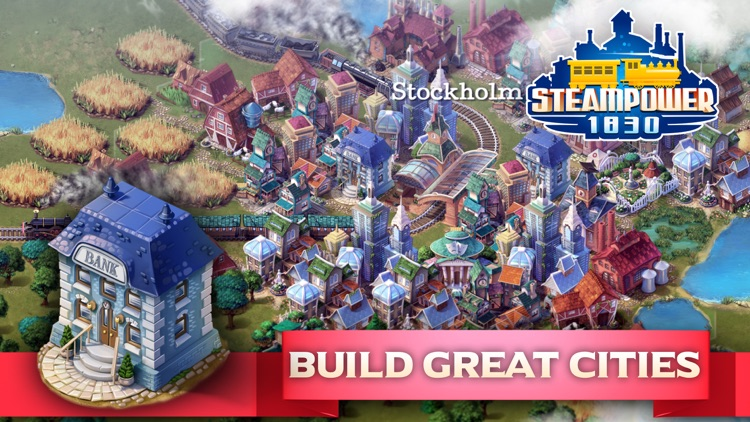 SteamPower1830 Railroad Tycoon by Hexagon Game Labs