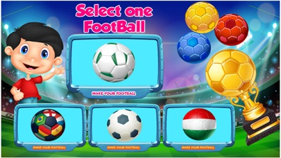 Soccer Factory Game screenshot one