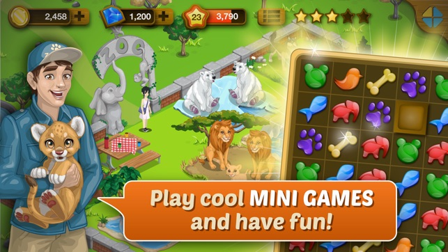 Happy Zoo - Wild Animals on the App Store