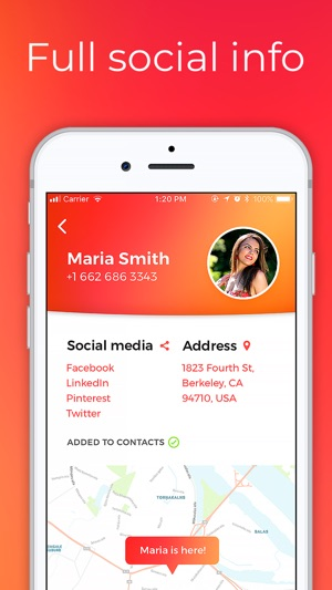cell phone number lookup on the app store