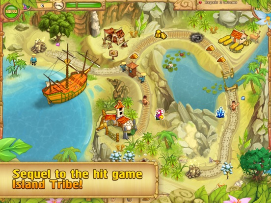 Island Tribe 2. screenshot 6