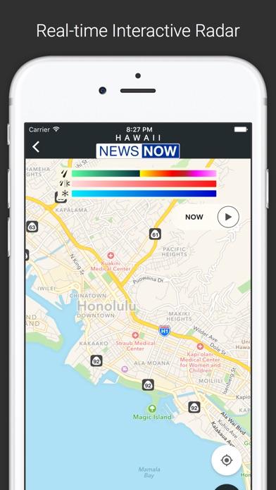Screenshot of Hawaii NOW Local News App