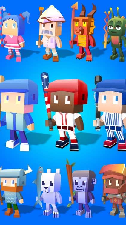 Blocky Baseball: Home Run Hero screenshot-4