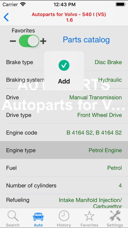 Autoparts for Volvo cars screenshot-3