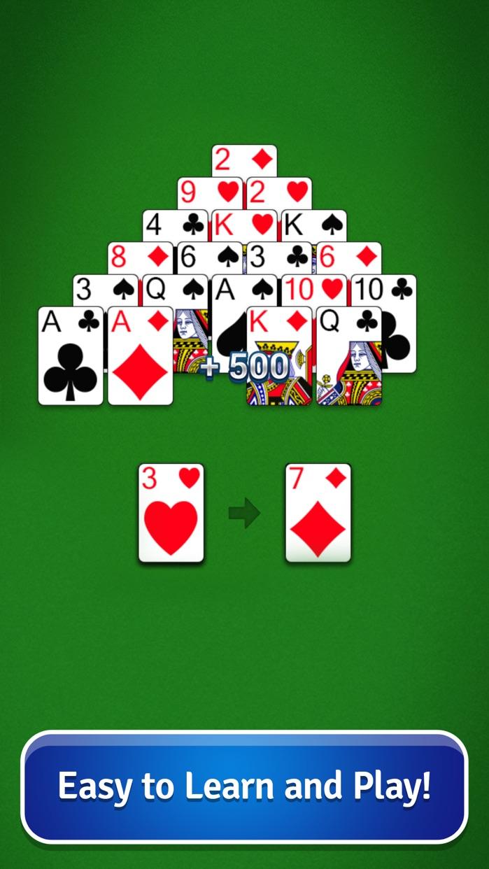 Pyramid Solitaire - Card Game Screenshot