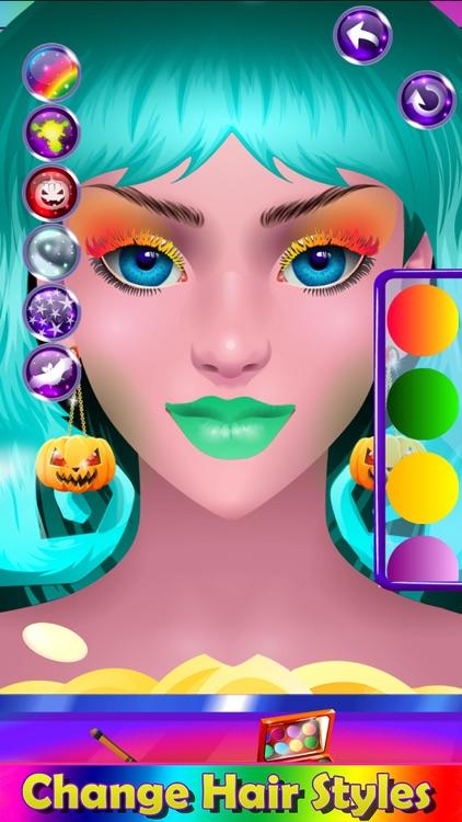 Monster Halloween Make Up screenshot-9