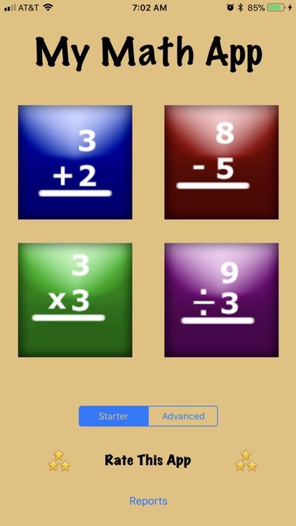My Math Flash Cards App screenshot-3